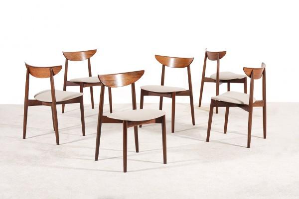 harry ostergaard chairs rosewood 59 randers 1957 kvadrat