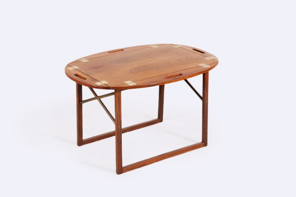 svend langkilde illums bolighus table palissandre 1960