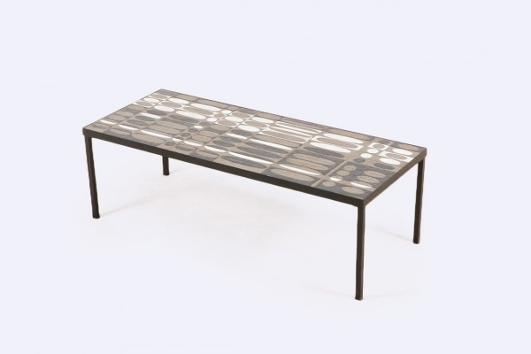 roger capron céramique table basse vallauris design 1950