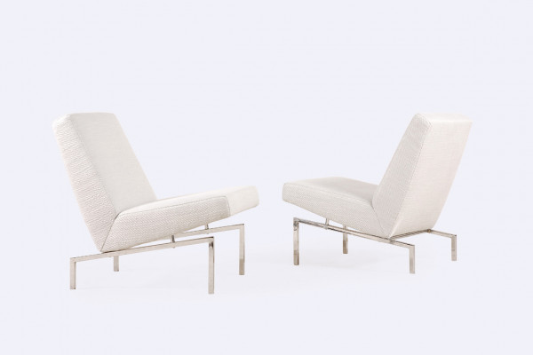 joseph andré motte steiner tempo low easy chair 1960 france